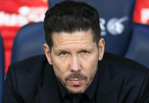 Diego Simeone, le coach de l'Atlético Madrid.