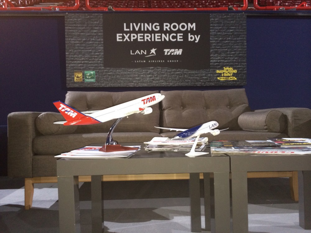 Le Living room experience by LATAM Airlines