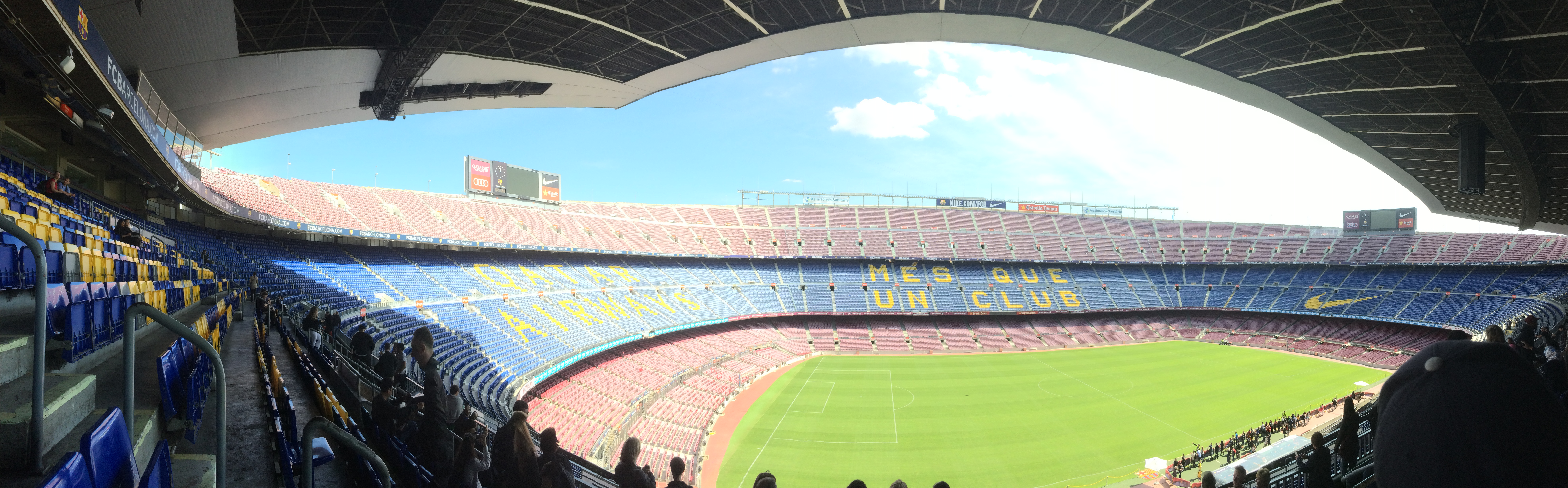 Panorama Camp Nou