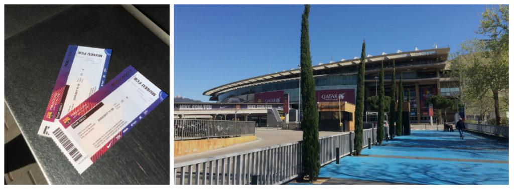 Entréé Camp Nou