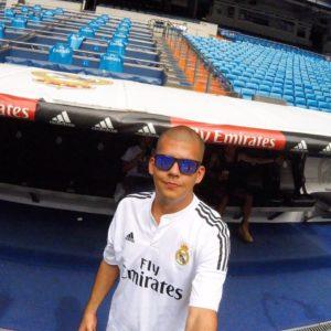 Jorge, fan colombien du Real Madrid