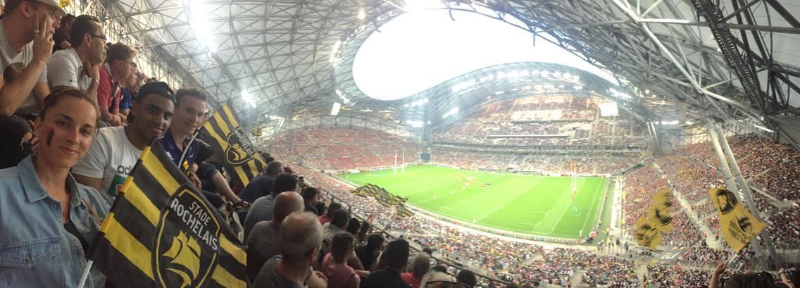 Nos fans dans les tribunes du Vélodrome