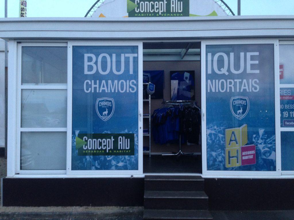 La boutique officielle des Chamois Niortais