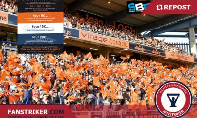 Le FC Lorient invite ses Fans à payer ce qu'ils veulent contre Angers