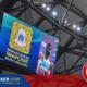 La story snapchat sur les écrans géants du stade à Marseille