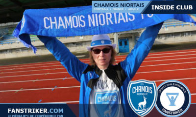 Laetitia Thomas, fan des Chamois Niortais