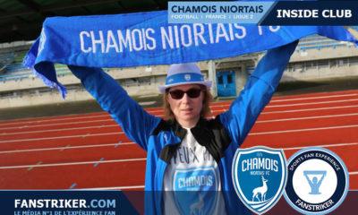Laetitia Thomas, fan des Chamois Niortais
