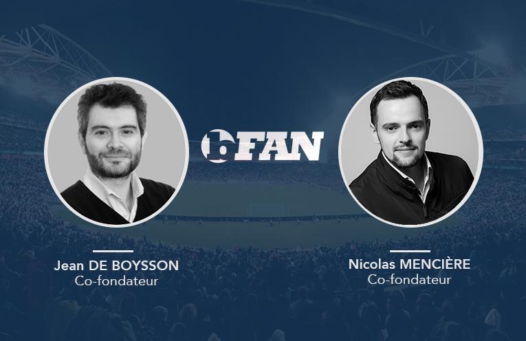 Nicolas et Jean, les deux co-fondateurs de bFAN