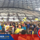 Le Vélodrome à l'issue du match ASM Clermont - Racing 92