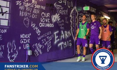 Le mur des supporters à Orlando