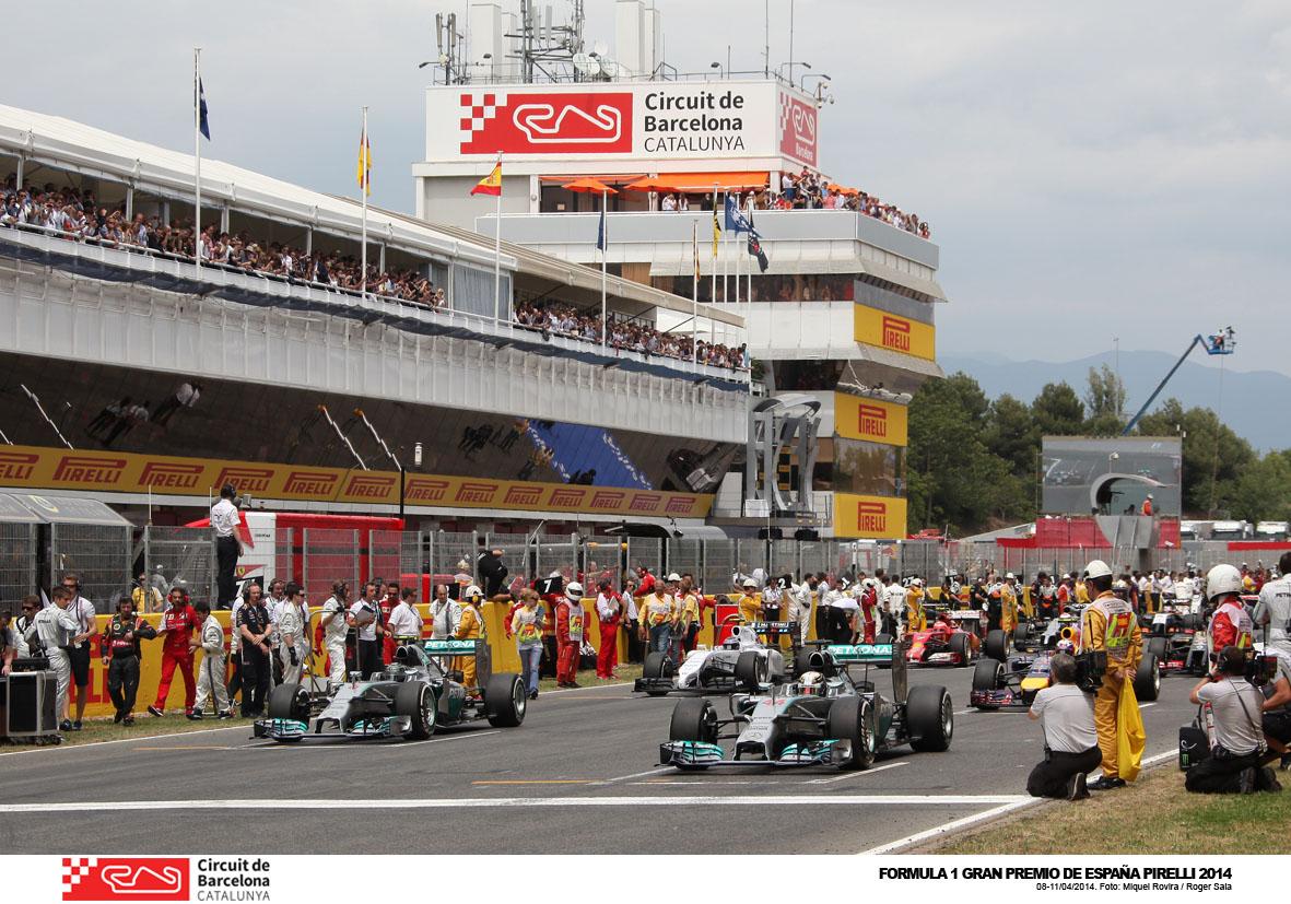 Grand Prix de Formule 1 à Barcelone en 2015
