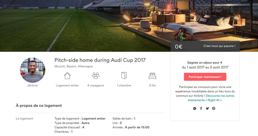 Jérôme Boateng en tant qu'hôte de maison sur Airbnb