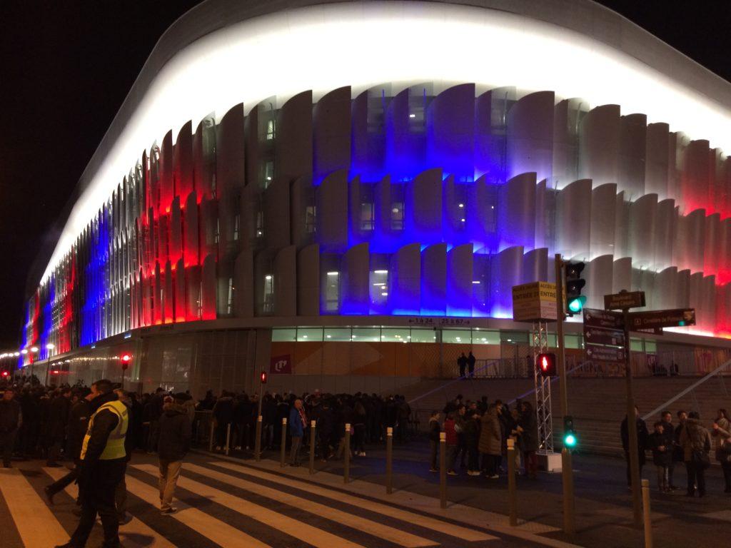 La U Arena de Nanterre pour France-Japon