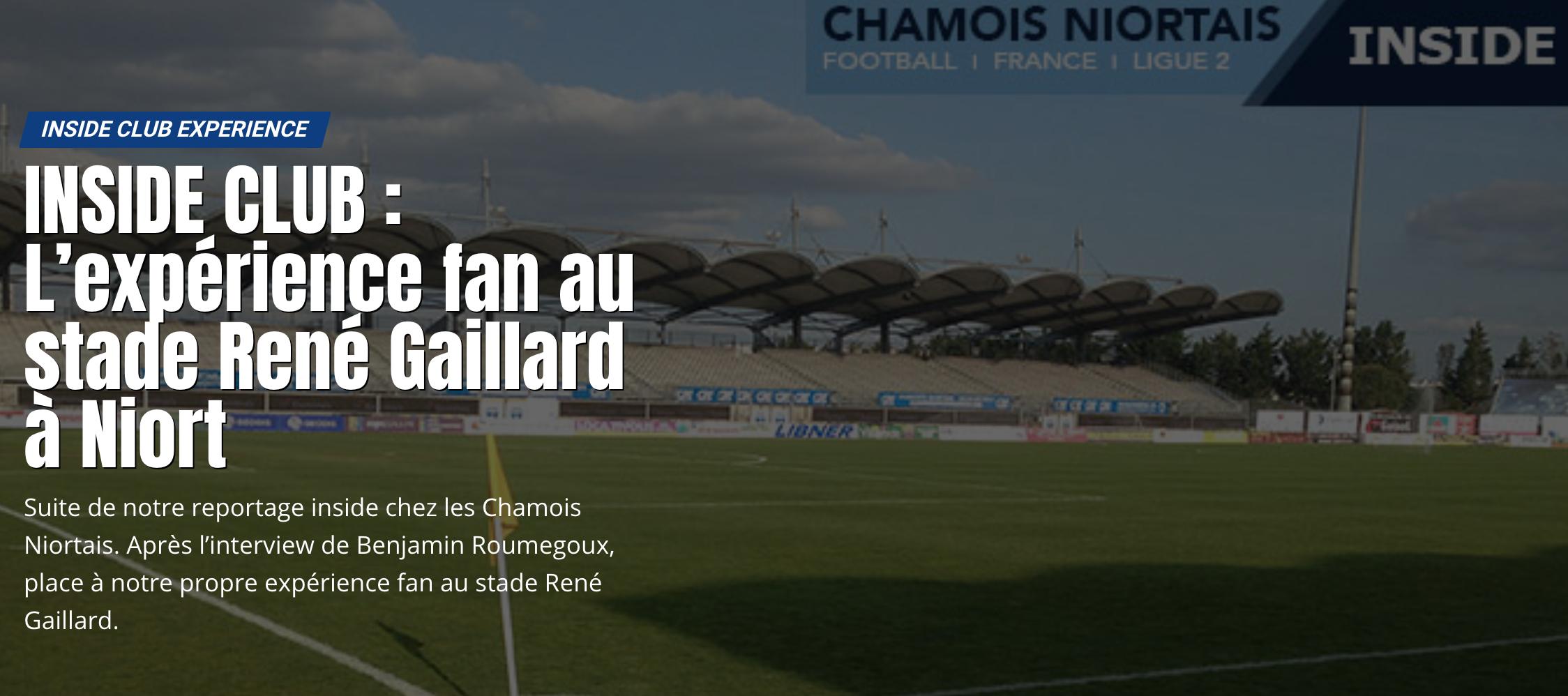 Inside club au Chamois Niortais