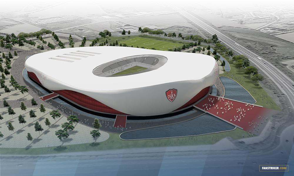 Le projet de nouveau Stade Brestois