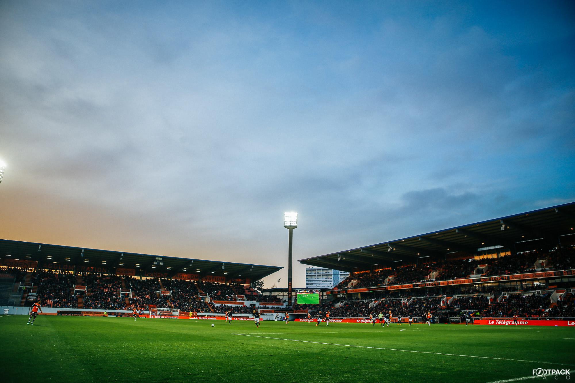 Superbe photo du stade du Moustoir par Paco