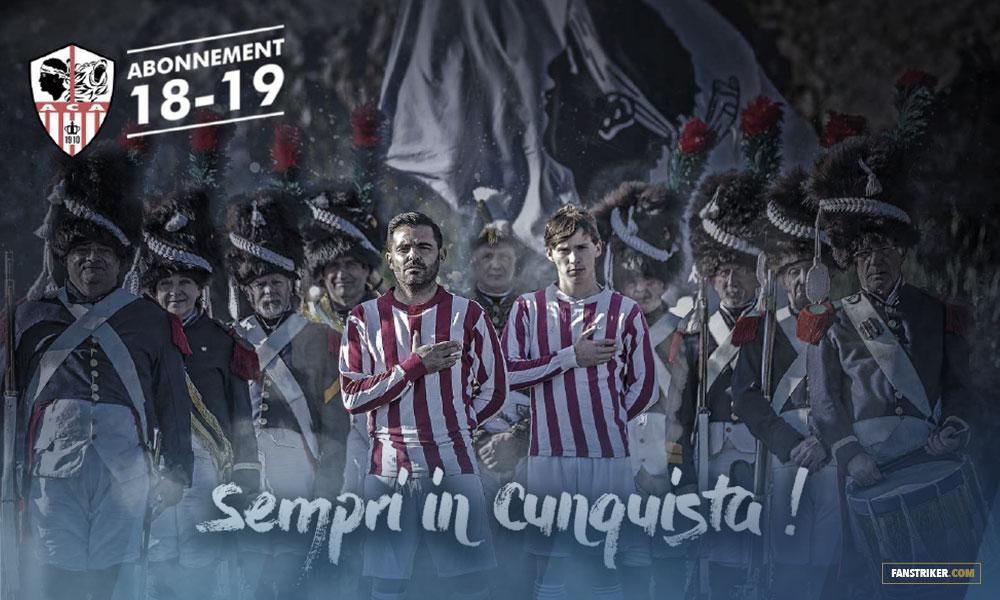 Campagne d'abonnement AC Ajaccio 2017.2018