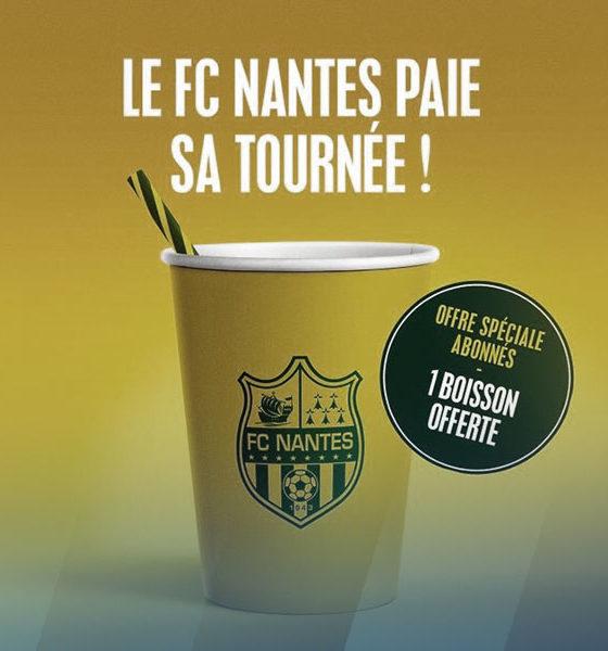 Le FC Nantes paie sa tournée