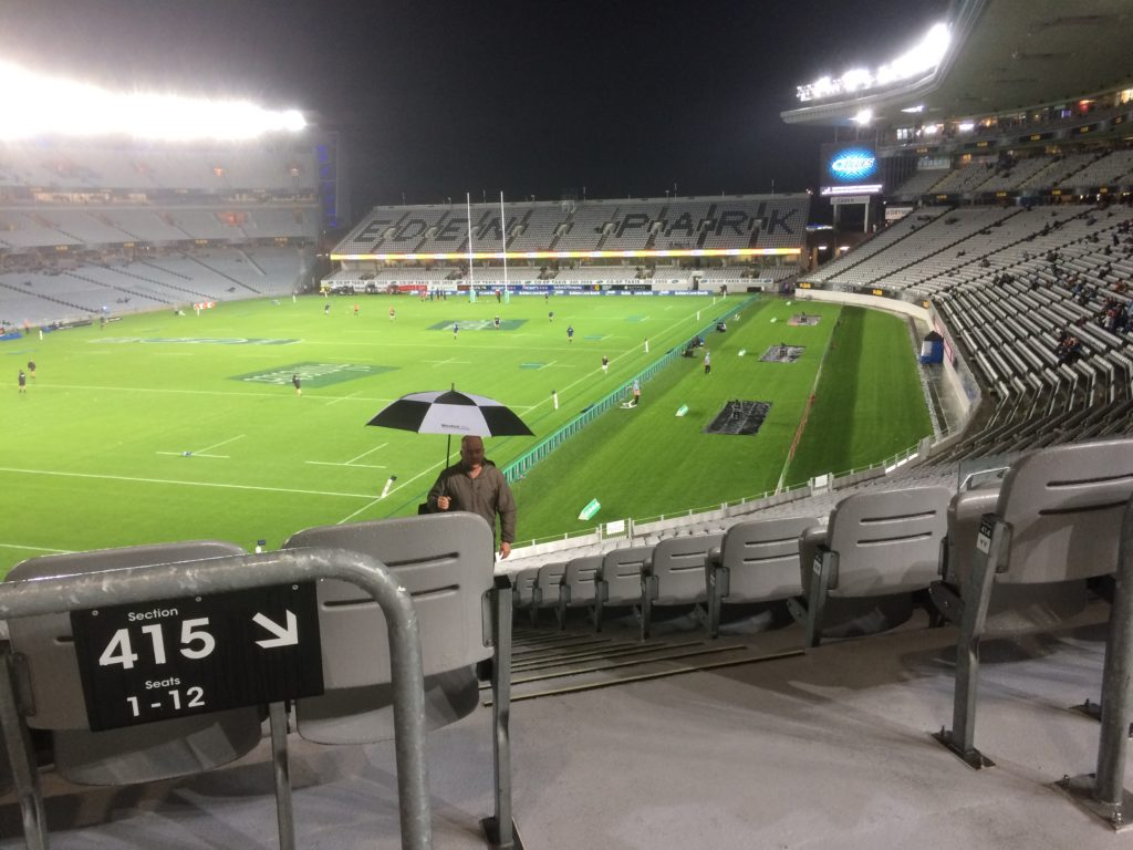 Eden Park Stadium for BLUvCRU