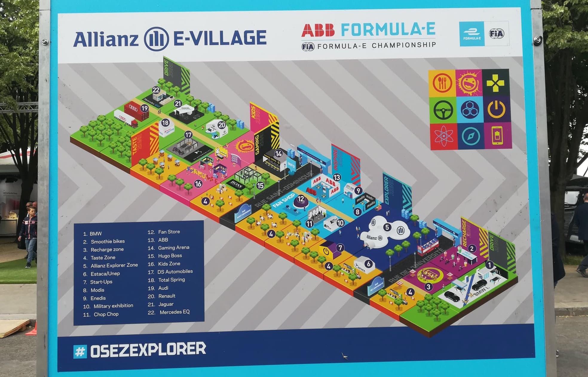Plan des animations du E-Village