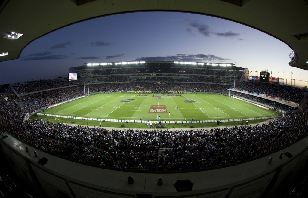 L'Eden Park, stade mythique de Nouvelle-Zélande