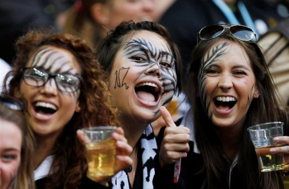 Des fans qui aiment autant la bière que le sport