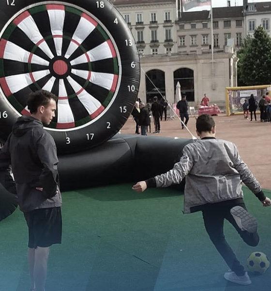 Fan zone avec Foot Air à Lyon