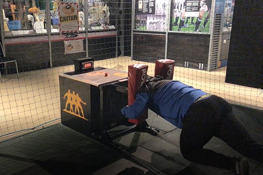 Simulateur de mêlée