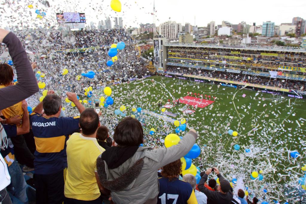 Boca Juniors contre River Plate à la Bombonera en Argentine