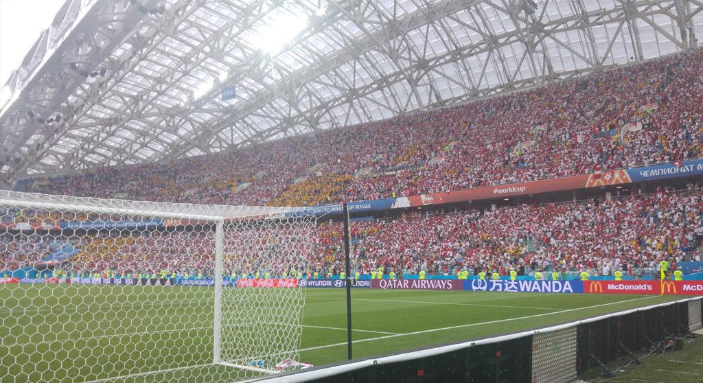 Les supporters péruviens à la Coupe du Monde