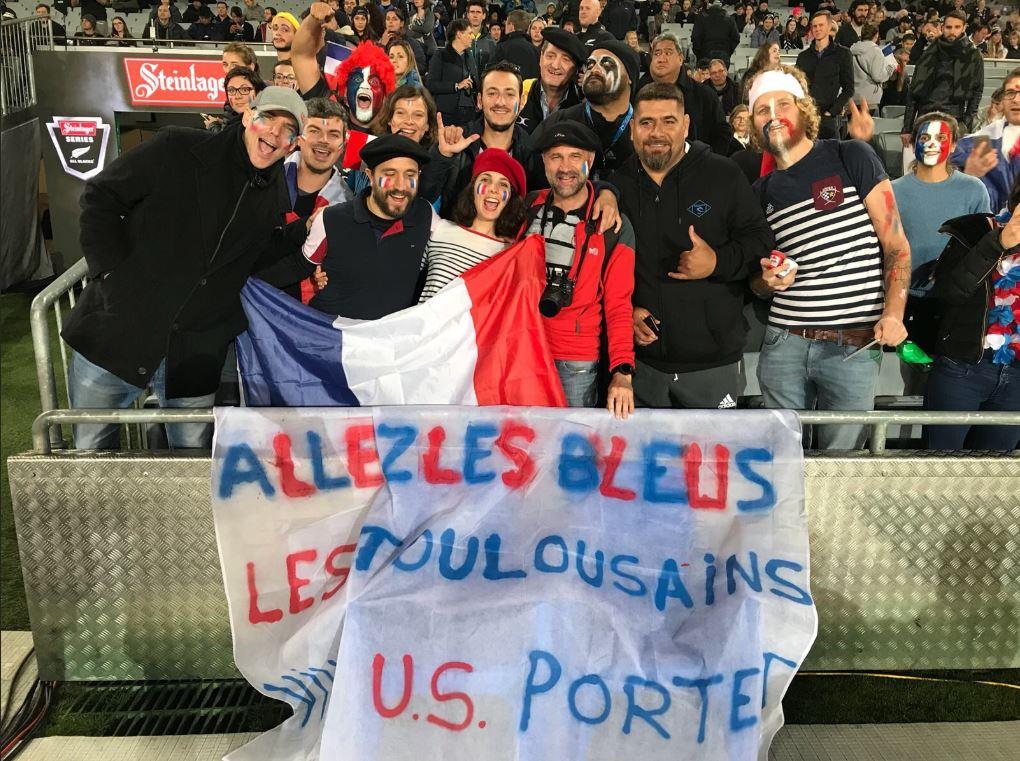 Les supporters français au rendez-vous