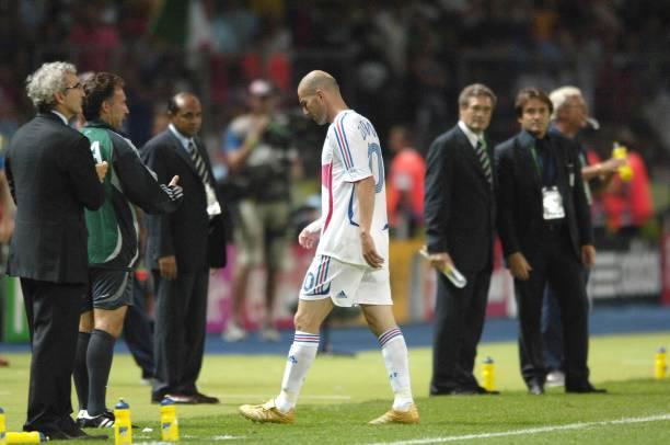 La malheureuse finale de 2006 face à l'Italie