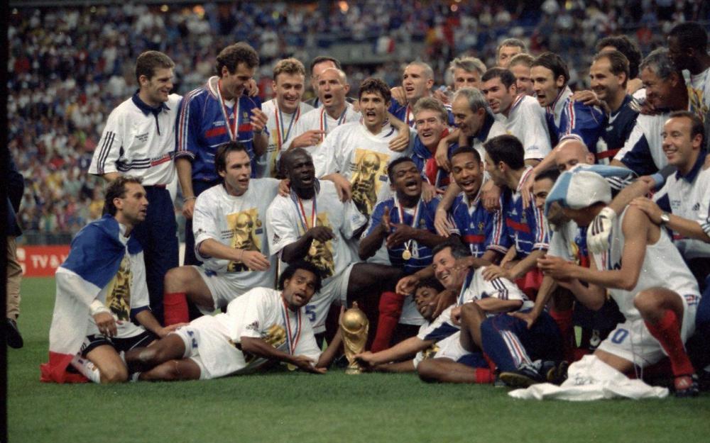 France 98 et la victoire au Stade de France pour la 1ere Coupe du Monde des bleus