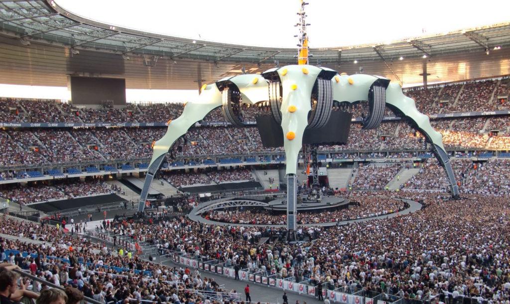 C'est dans l'industrie du concert en France que les gens payent le plus cher