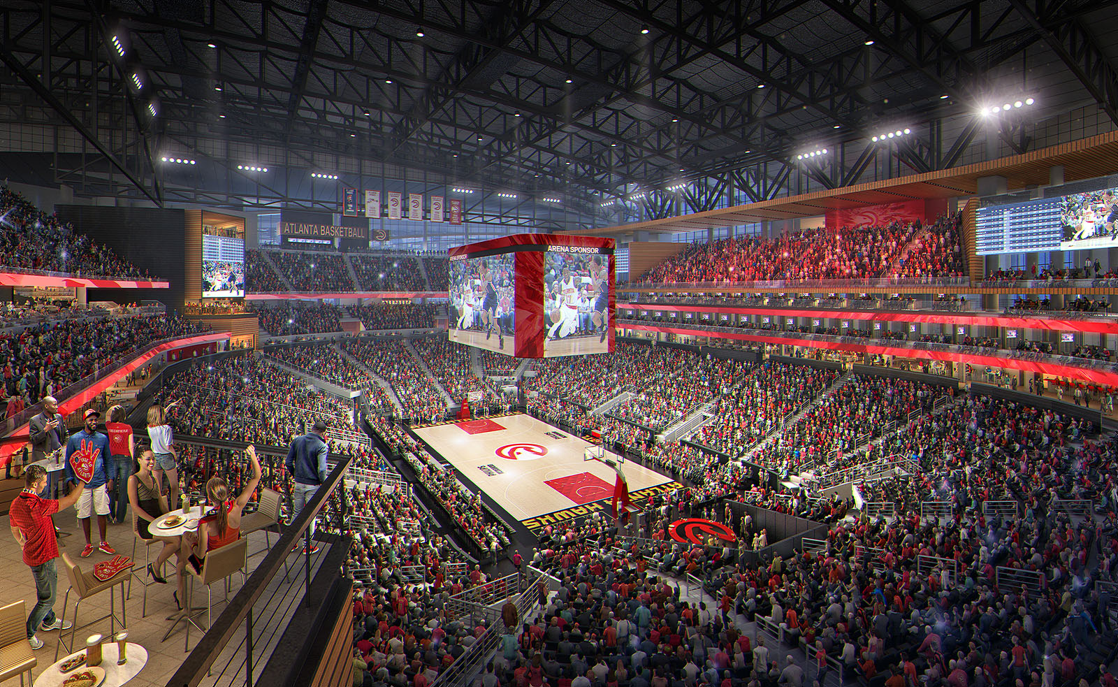 La Philips Arena à Atlanta