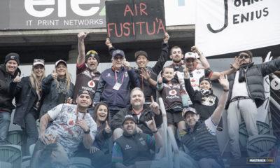 Les fans des Vodafone Warriors