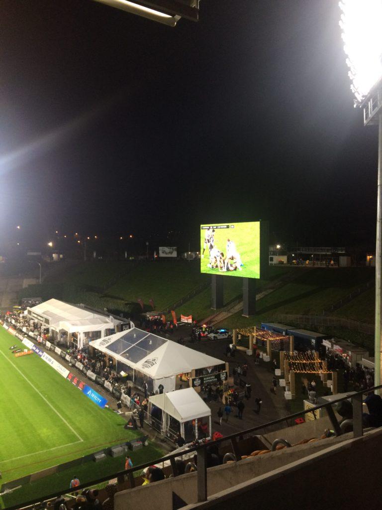Ecran géant du Mont Smart Stadium