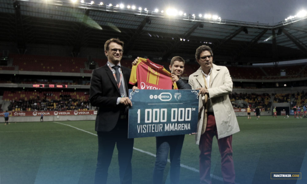 Le Mans FC célèbre son 1 000 000 visiteur au stade