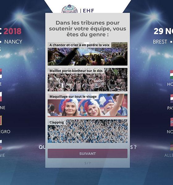 Quizz handballissime EHF EURO 2018