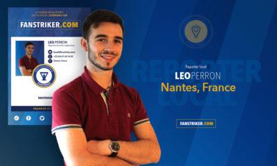 Leo Perron, reporter local pour Fanstriker