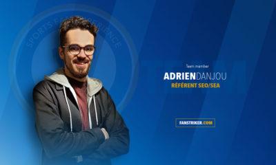 Adrien Danjou, membre de l'équipe Fanstriker