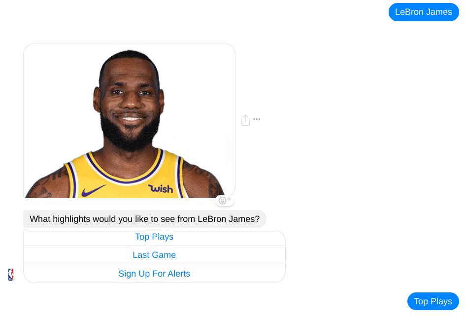 Chatbot de la NBA