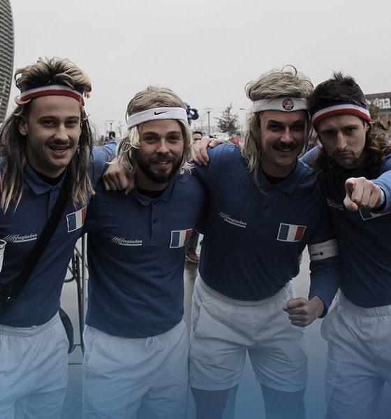 Une journée avec les fans de Tennis à la finale de Coupe Davis