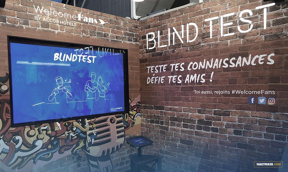 L'animation Blind Test par Welcome Fans