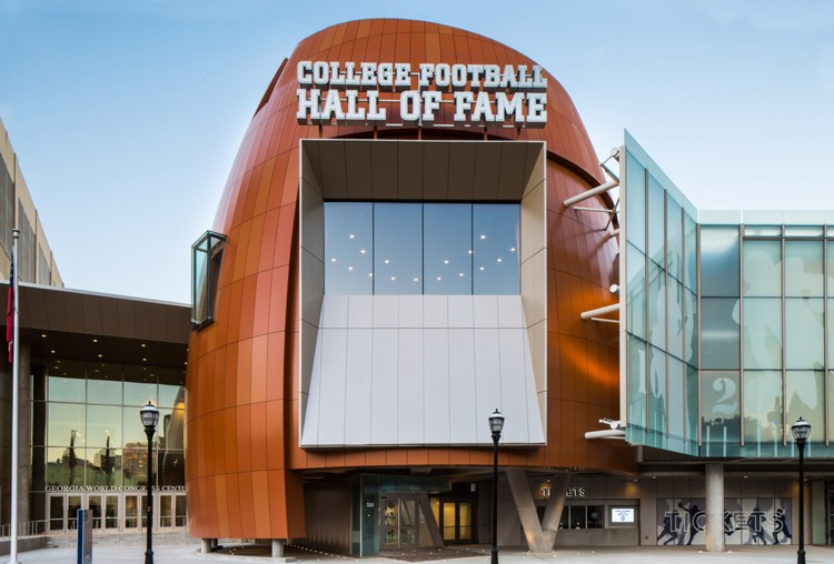 Le College Football Hall of Fame à Atlanta