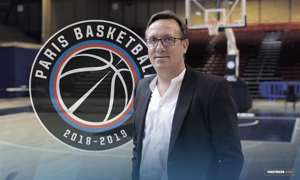 Interview de Romuald Coustre, DG du Paris Basketball