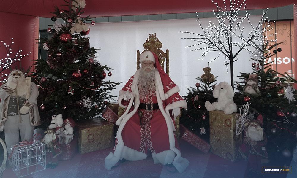 Le Père Noël de l'OGC Nice