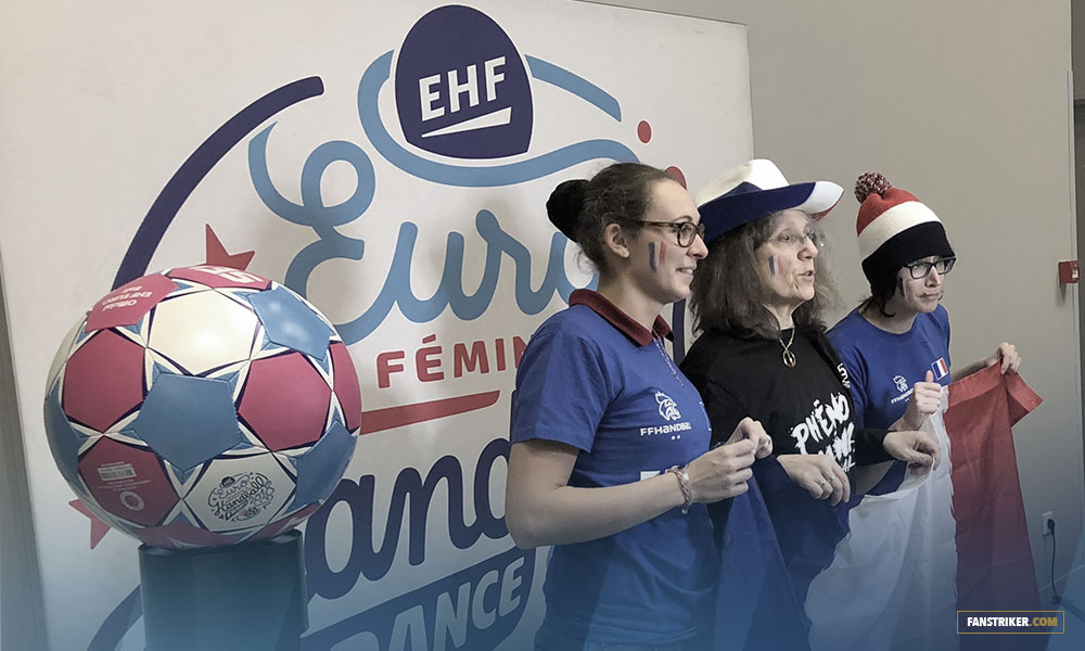 Le photobooth de l'EHF Euro 2018