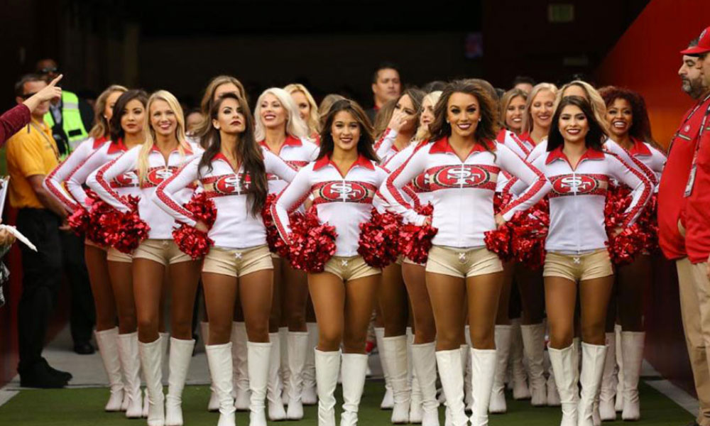 Les Cheerleaders sont des personnalités appréciées des fans