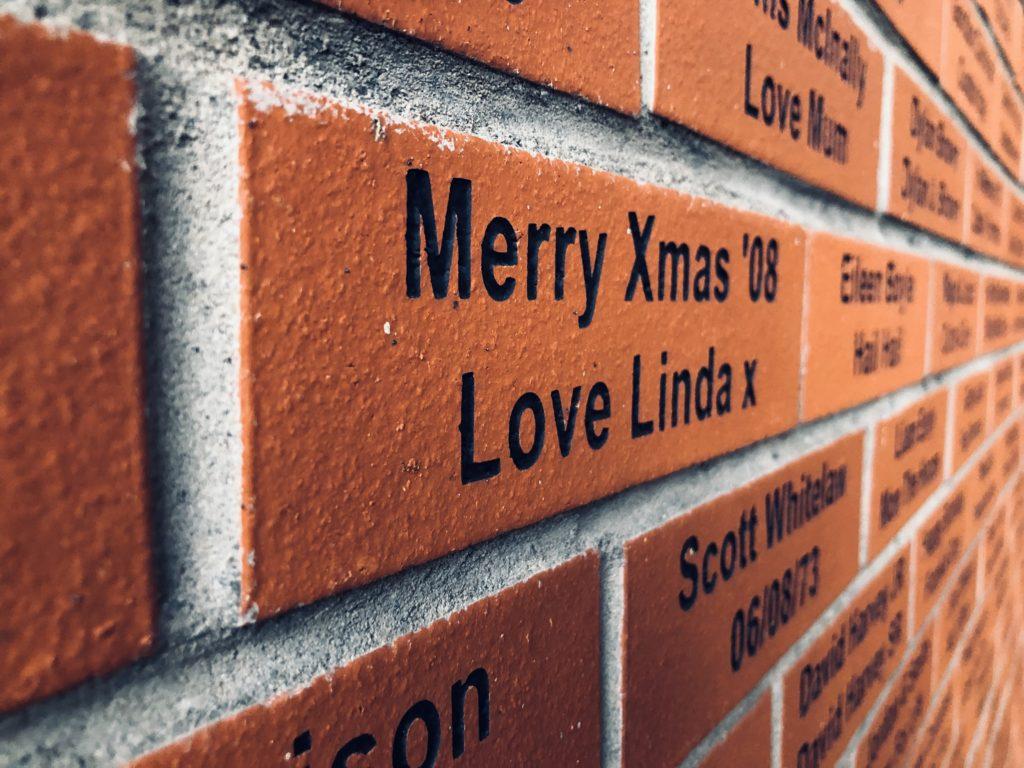 Les bricks à personnaliser pour 40£